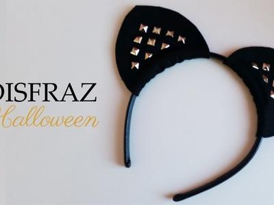 Disfraz Halloween | Orejas de Gato | DIY fácil
