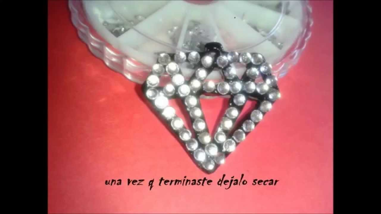 DIY Collar Diamante