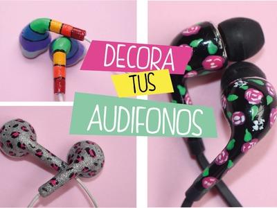 DIY: como decorar audífonos o auriculares con esmaltes? Lorena G ♥