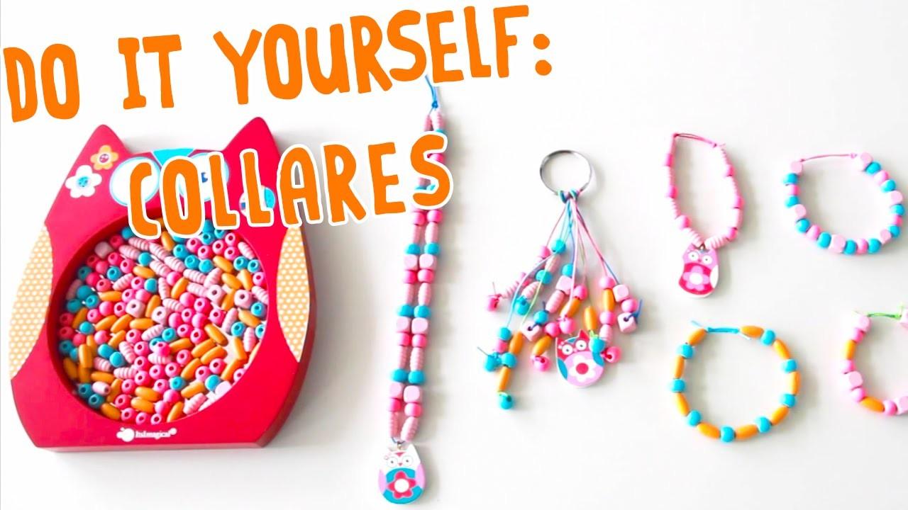 DIY - Cómo hacer tu propio collar con cuentas de colores