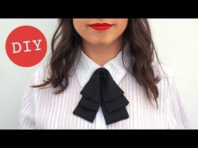 DIY - Cómo hacer una pajarita (para chicas)