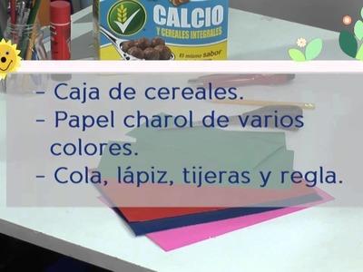 Manualidades fáciles: hacer un punto de lectura con cereales Nestlé