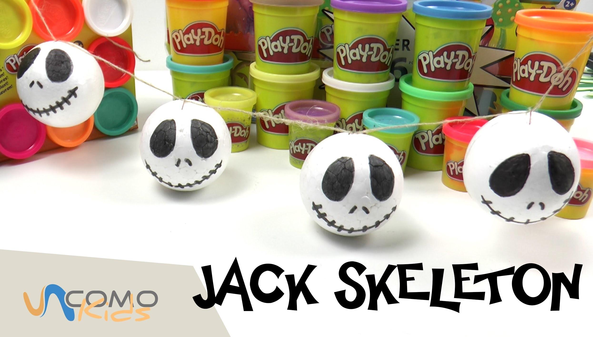Manualidades para niños- Decoración de Jack Skeleton