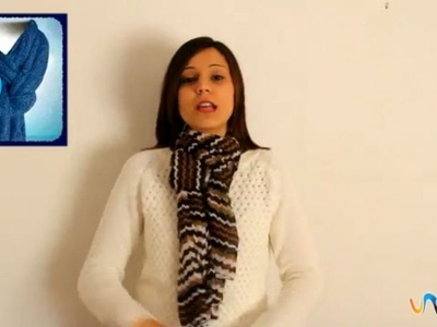 Ponerse un fular o bufanda de forma original
