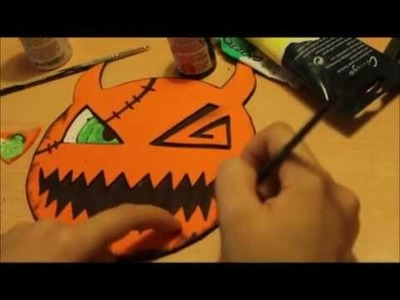 [Tutorial] Kingdom Hearts - Sora's Mask [Halloween Town] | Español. English |
