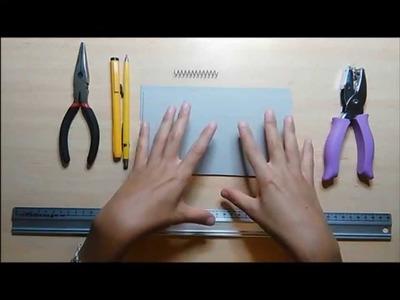 Tutorial - Una encuadernación fácil y sencilla (DIY)
