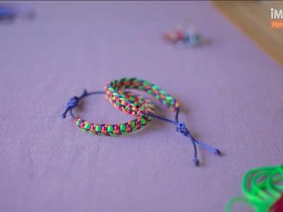 Cómo hacer pulseras de hilo