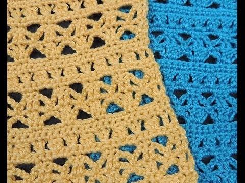 Crochet : Punto Combinado # 4