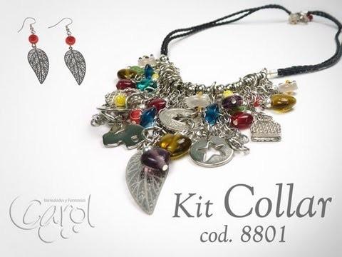 KIT 8801 Kit Collar trenza mix