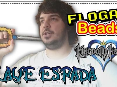 LLAVE ESPADA KINGDOM HEARTS - DIY- Tutorial Pearl.Hama Beads para Gamers - FloGar o.O