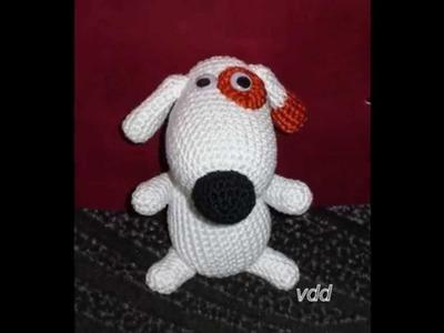 Perritos tejidos a crochet