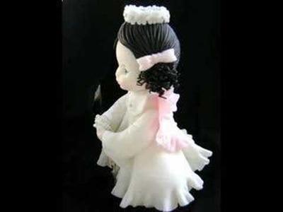 Porcelana Fria超輕土: Angelitas