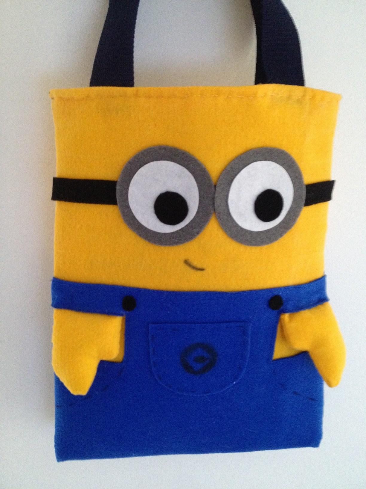 Tutorial de regreso a clases: bolso de minions.bag DIY