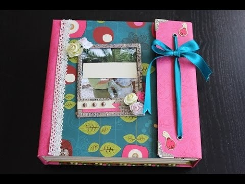 Video Presentación Taller de Scrapbooking Álbum Whimsical WOrld