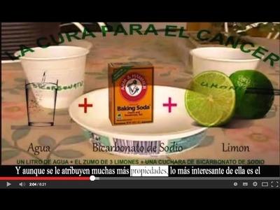 Bicarbonato de Sodio y Limón para prevenir el Cáncer!