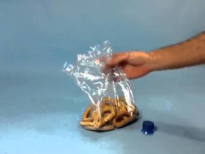 Cierre hermético para bolsas de plástico