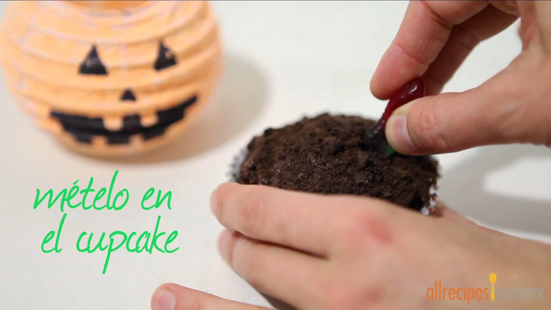 Cómo decorar cupcakes para Halloween