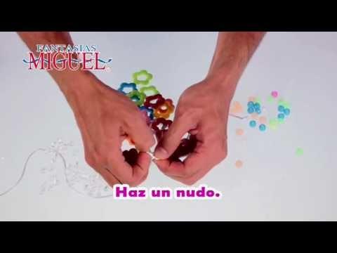 Como hacer un Collar de Colores