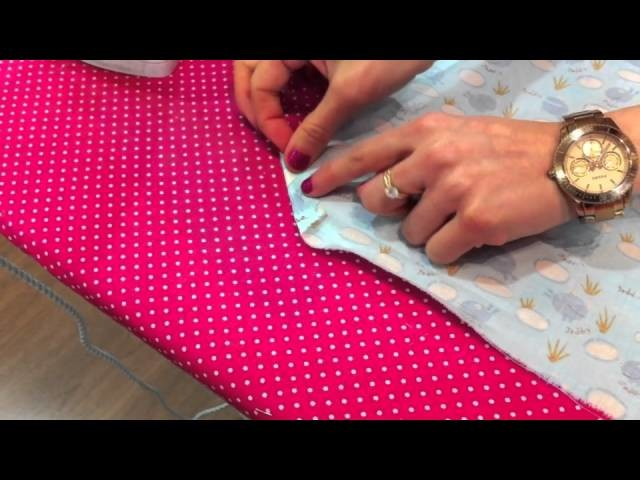 Daily Sweet Cap 6 Video tutorial Como hacer esquinas perfectas en tela