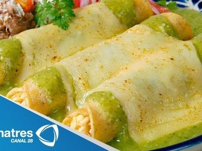 Deliciosas y fáciles Enchiladas Suizas
