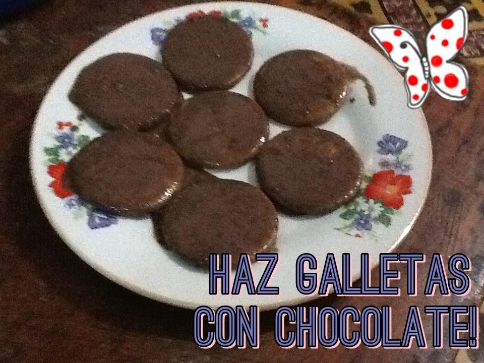 ¡Haz galletas con chocolate! | Cocina | My Espacio Craft