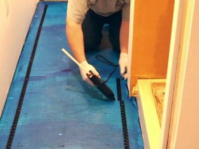 Instalación del nuevo tapete HeatStep™