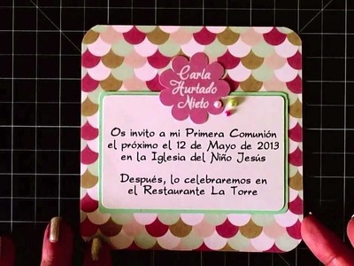 Invitación de comunión #3 - Communion invitation