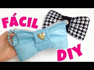 MANUALIDADES:como hacer un bolso(lapicera\cosmetiquera)fácil