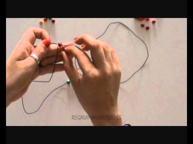 Pulsera de bolitas (bead bracelet)