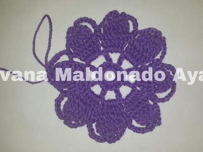 Puntos de Crochet, Flor Mil Usos