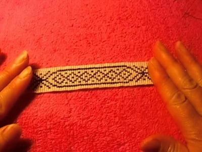 Tutorial como usar el telar para pulseras ojala que les agrade es muy fácil #8