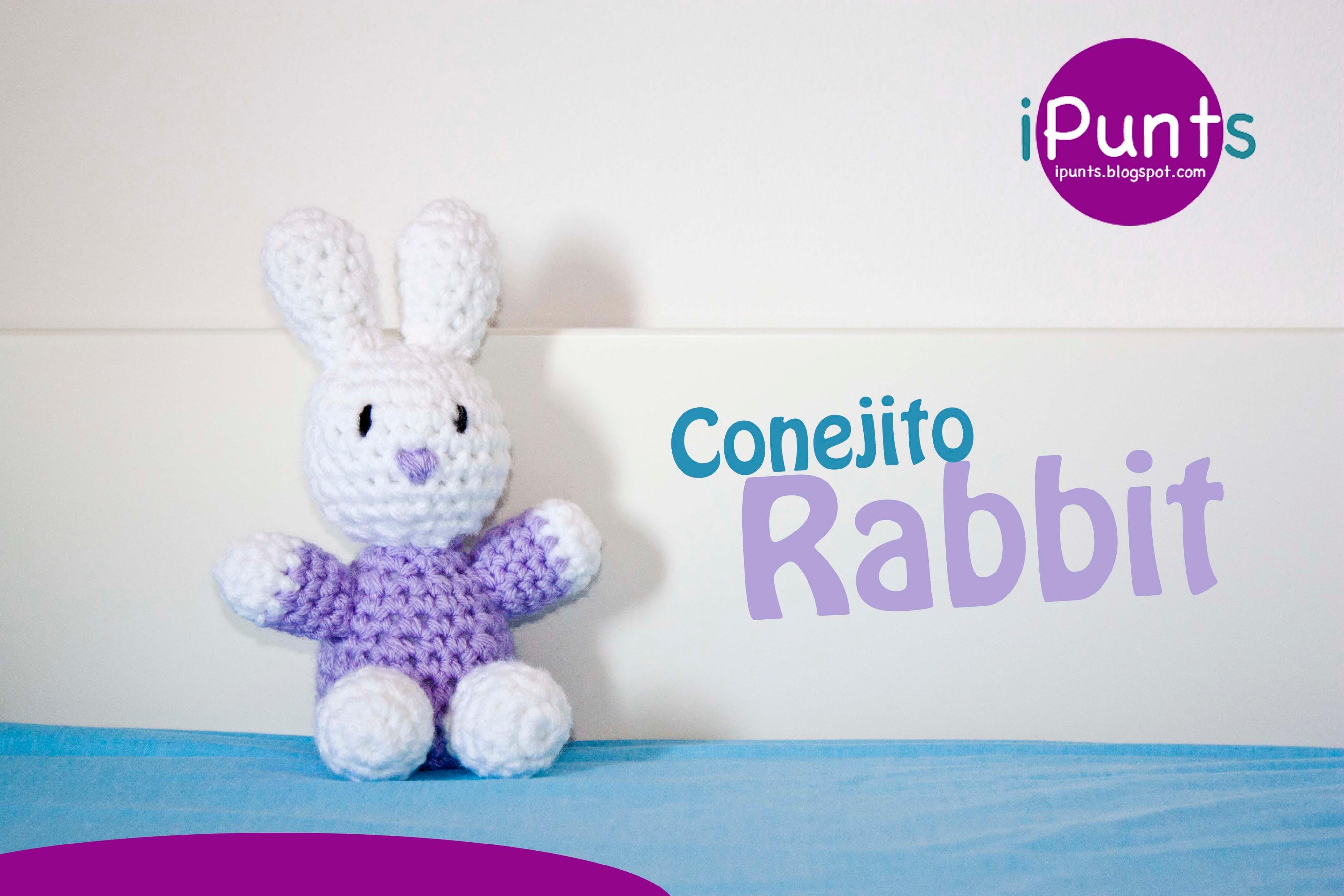 Amigurumis: Conejo Rabbit paso a paso crochet