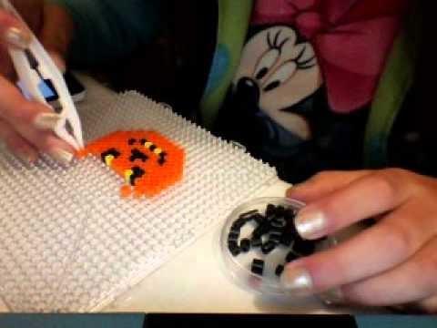Como hacer un calabaza de perler beads
