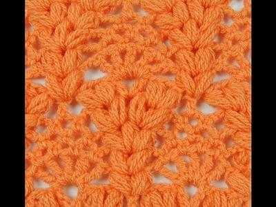 Crochet : Punto Piña y Esponjoso