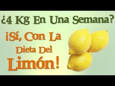 Dieta del Limón Para Adelgazar 4 Kg En Una Semana
