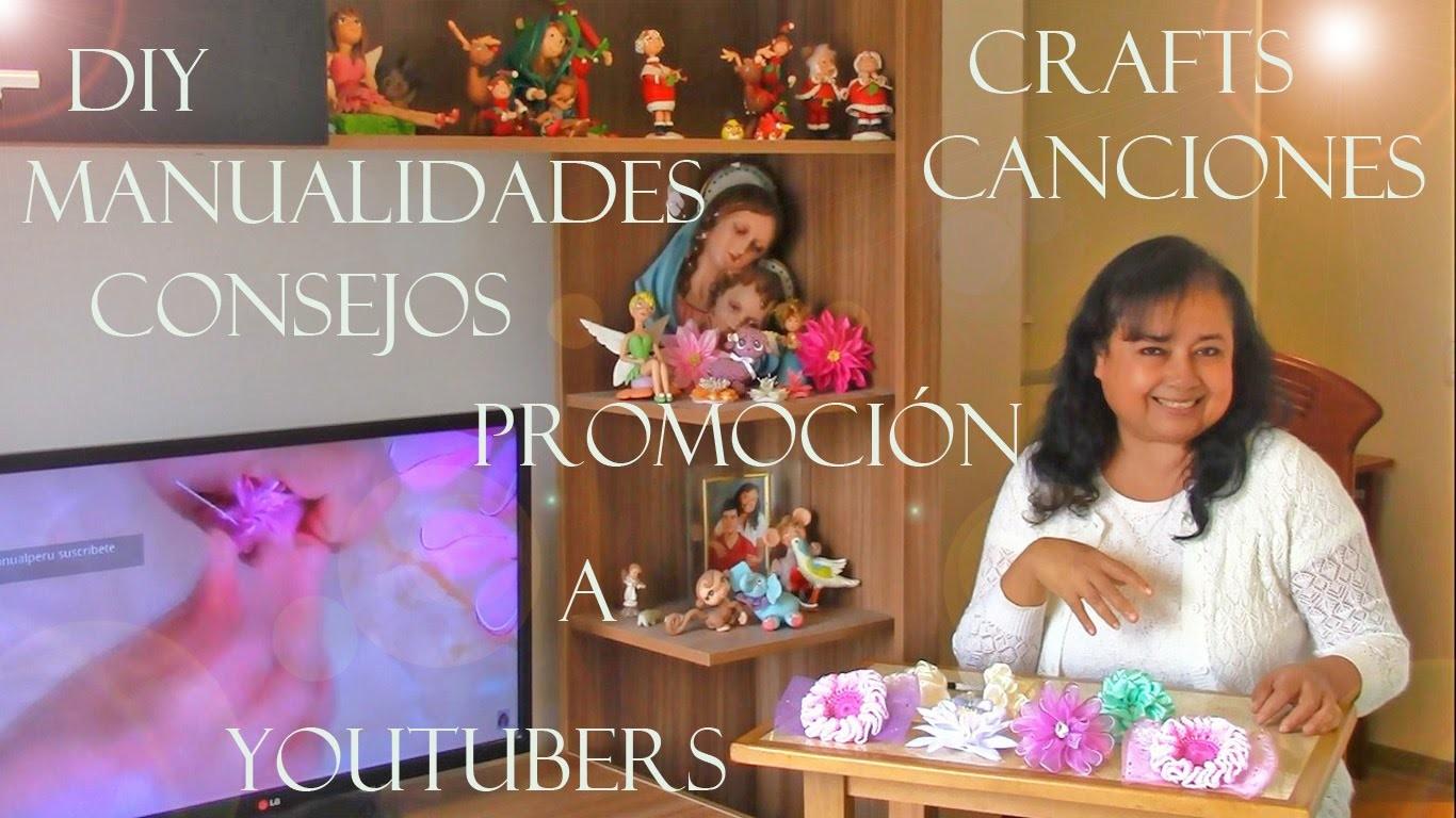DIY manualidades, Crafts , Consejos,Canciones Promocióna Youtubers - , Crafts, Tips, Music and songs