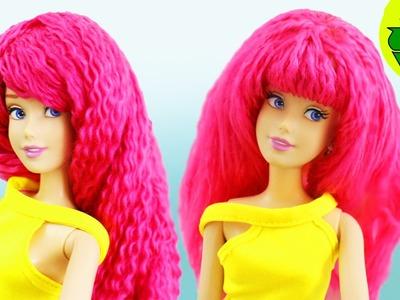 HAZ PELUCAS para tus muñecas  - manualidades para muñecas