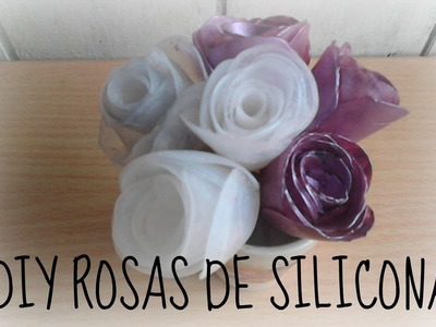 MANUALIDADES FACILES, DIY ROSAS DE SILICONA, MANUALIDADES BARATAS