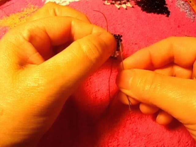 Peyote stitch este patron es muy especial para mi por que es mio#2