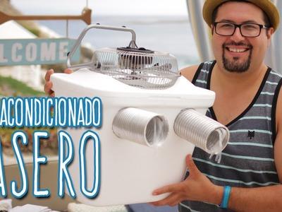 Aire Acondicionado Casero y Barato - Eddie G #mituverano #viveelverano