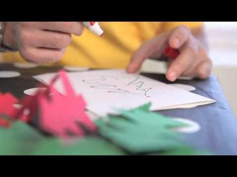 Cómo hacer adornos de Navidad. Video consejos IKEA 25