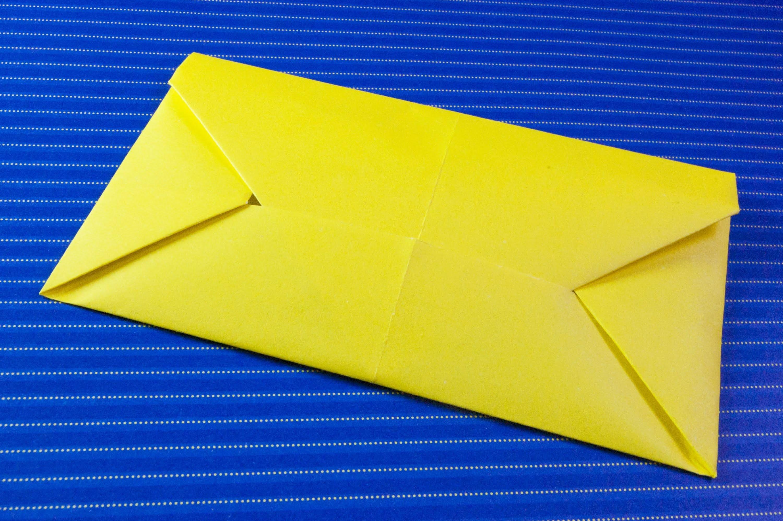 Como hacer un sobre para cartas (origami papiroflexia)