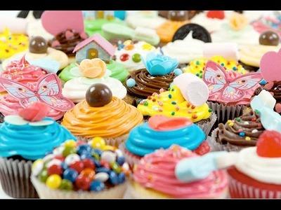 * Receta : Cupcakes de Colores *