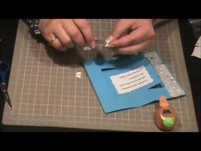 Scrapbooking con Lily - Tarjeta Giratoria