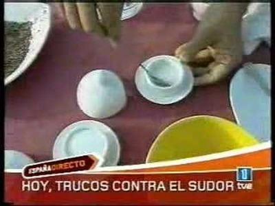 Trucos contra el sudor (España Directo 6-9-06)