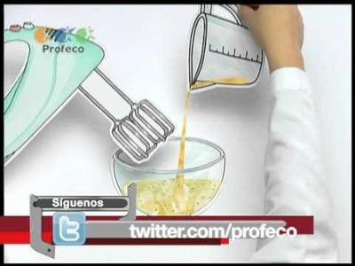 """Vinagreta de miel y mostaza [""""Tecnología Doméstica Profeco"""" 39.4]"""