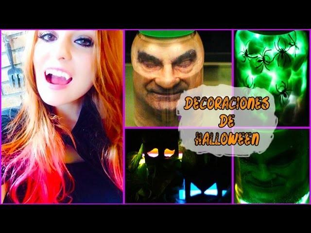 ¡Adornos Rápidos y Fáciles para fiesta de Halloween! - Raiza Revellos