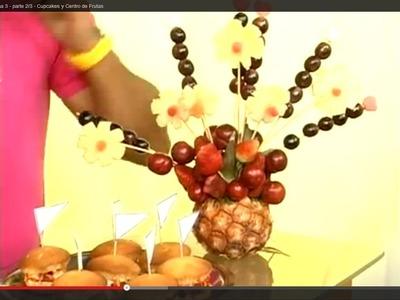 Centro de mesa de frutas - Programa 3 - parte 3.3