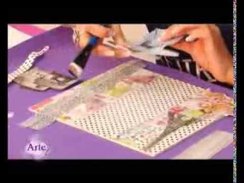 Cómo decorar una caja con decoupage