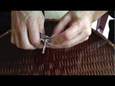 Como hacer un crucifijo de plata, Santa Cruz, Bolivia (parte 2)
